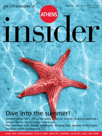 Athens insider 110 / July – August 2013