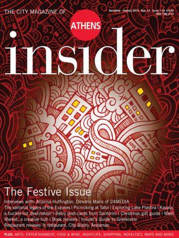 Athens insider 118 / December – January 2015