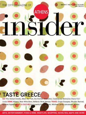 Athens insider 132 / April 2017