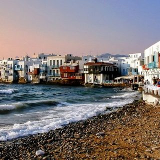 Celebrities Loving on Greece