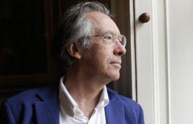 Booker-prize winning novelist Ian McEwan addresses Athens