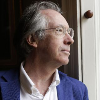Booker-prize winning novelist Ian McEwan addresses Athens