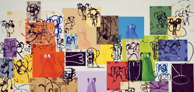 George Condo at the Cycladic