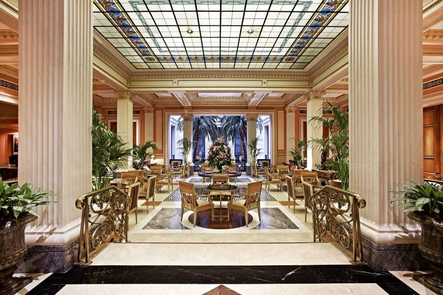 Opera Nights at the Winter Garden, Hotel Grande Bretagne