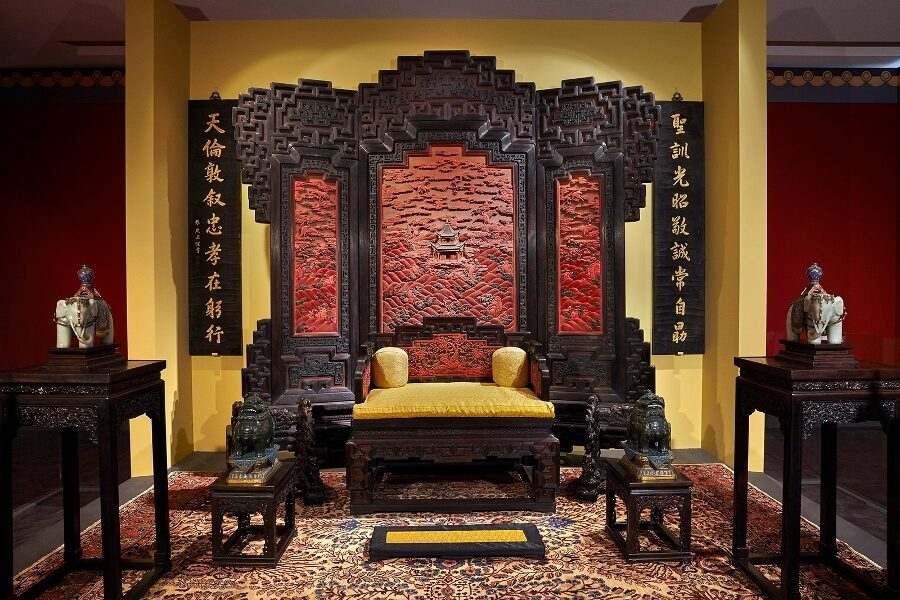 Imperial Apartments of Qianlong Exhibition