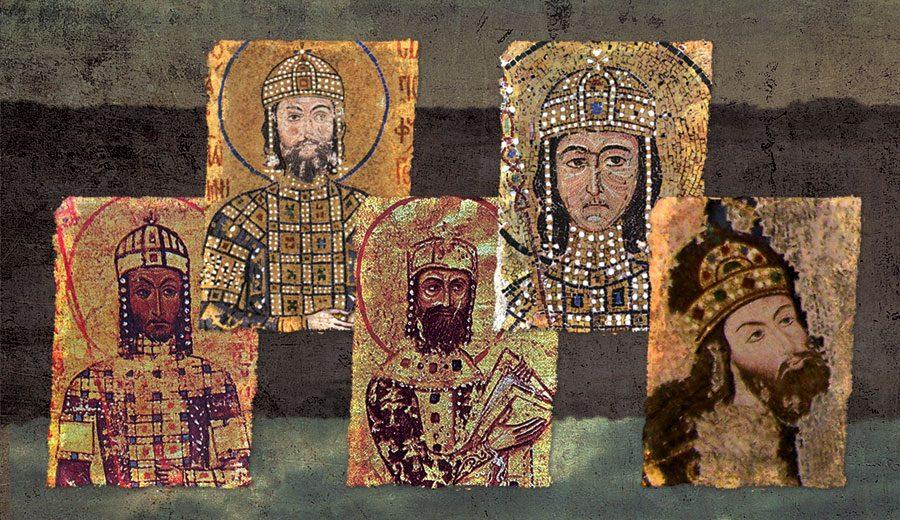 A Mediaeval Greek Dynasty Saga