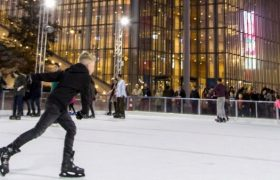 Ice Skating at the SNFCC