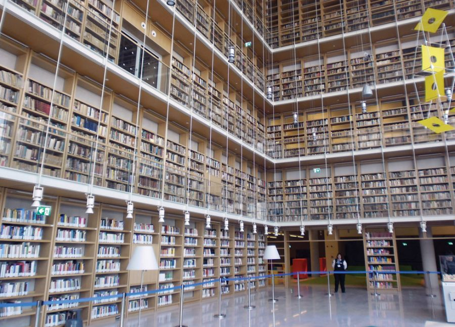 The National Library at the Stavros Niarchos Cultural Foundation - SNFCC