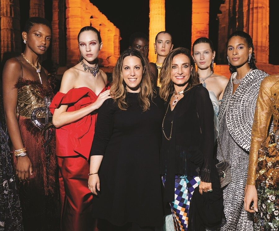 Mary Katrantzou: An exalted collection at an epic setting