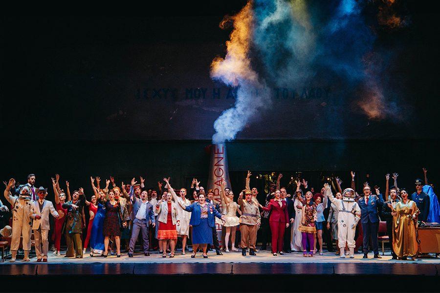 Die Fledermaus by the Greek National Opera