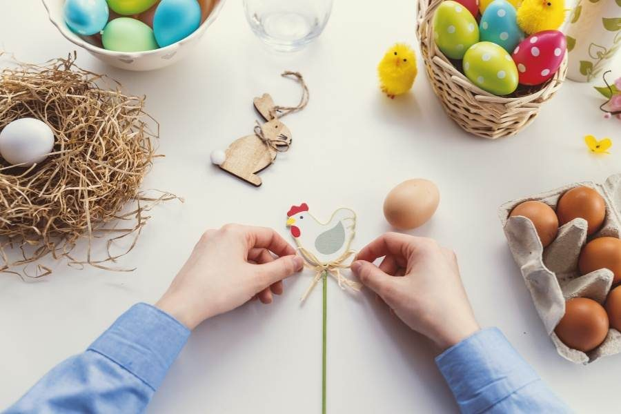 10 at Home Activities for this Socially-Distanced Greek Easter Weekend