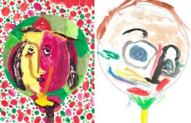 Children's painting contest at the Cycladic  Museum draws huge interest