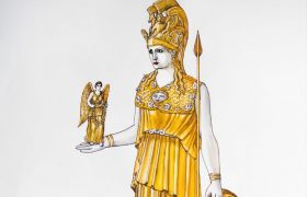 The lost statue of Athena Parthenos