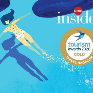 Athens Insider wins Gold at the Tourism 2020 Awards for Best Travel Magazine in Greece