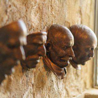 DESTE: Kostis Velonis' 8 Funerary Masks