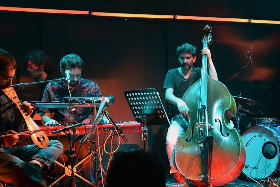 Mihalis Kalkanis Group featuring Haig Yazdjian and Jannis Anastasakis