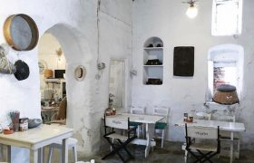The Heart and Soul of a Medieval Bakery in Mykonos