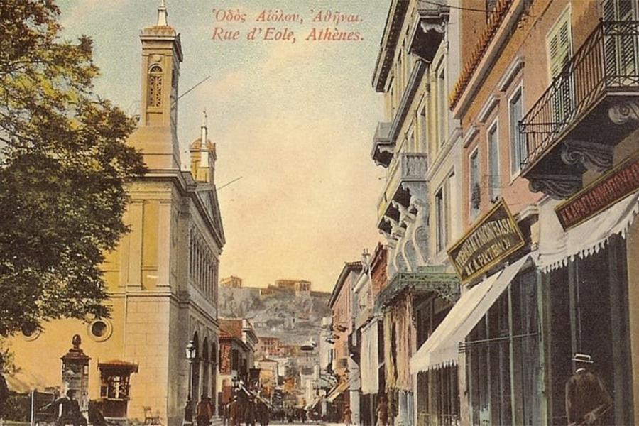 Walk through Athens'living heritage with Nikos Vatopoulos