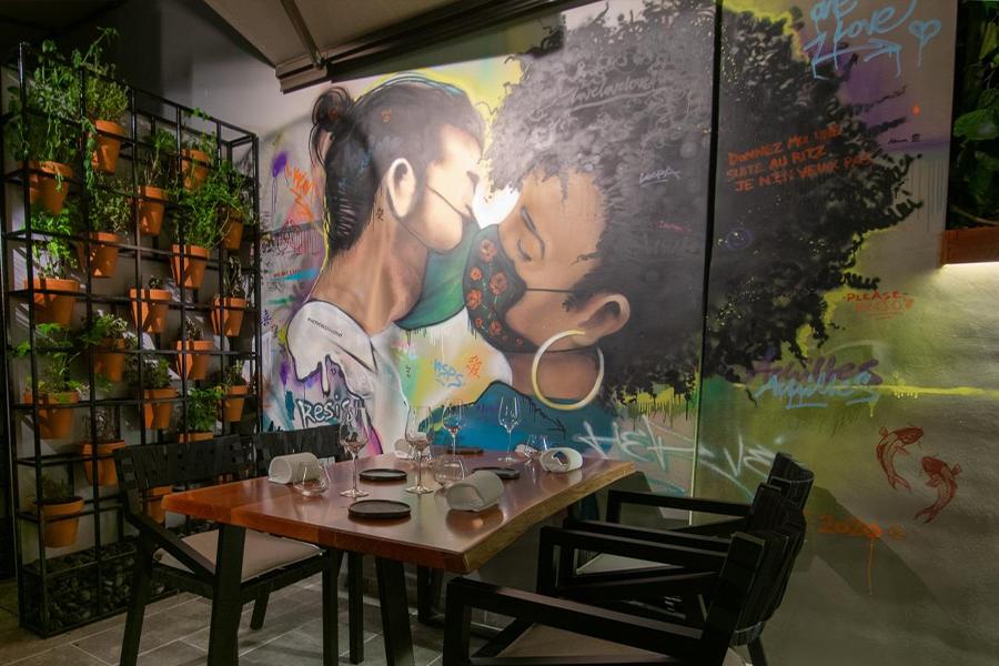 Hervé: Fine dining in Petralona