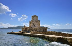 Get Captured by the Castle in Methoni