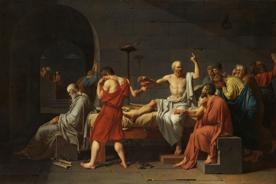 From the cup to the lips: the Death of Socrates in 399 BC