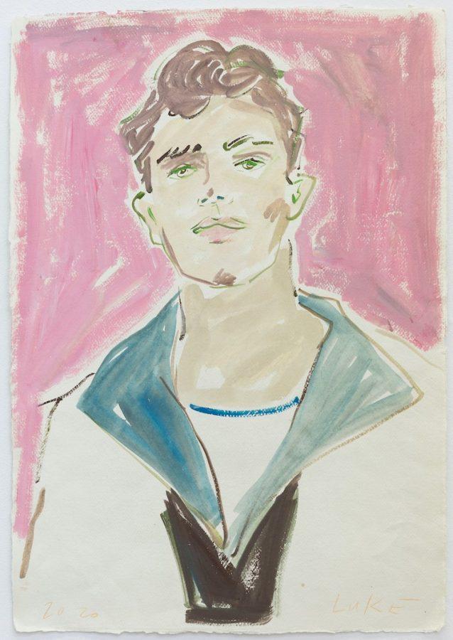 Luke Edward Hall at Breeder Gallery