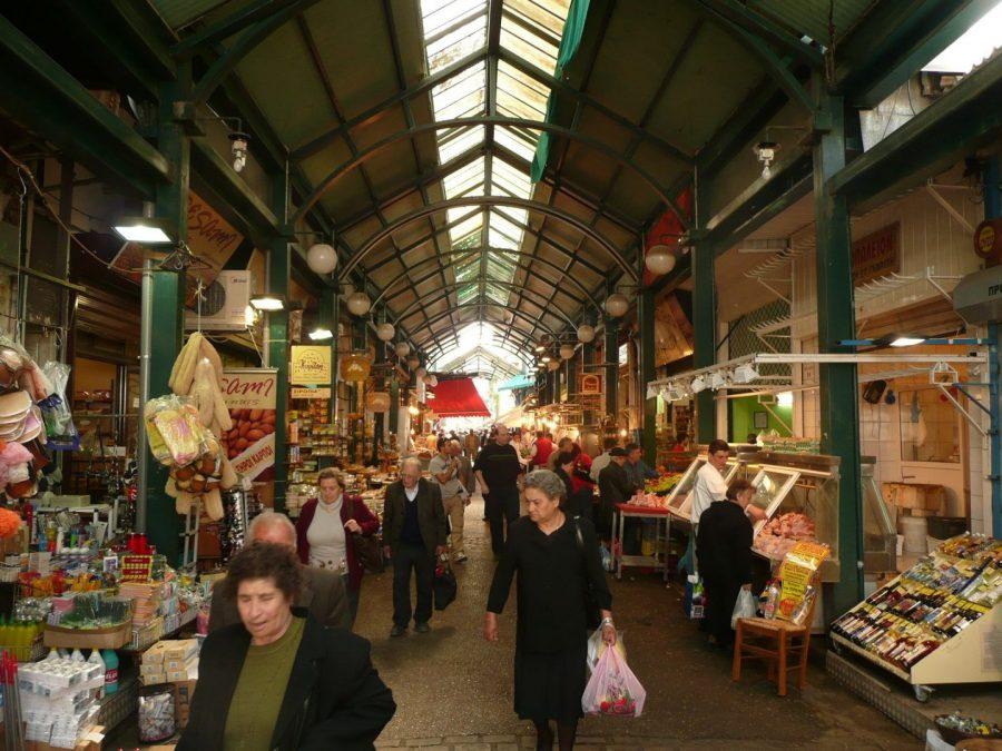 The Modiano Market where the Jewish community congregated
