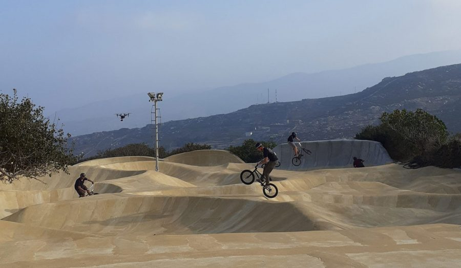 Go with the Flow: The Andros Skate Park that Became an Art Gallery