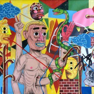 Mark Mulroney at the Allouche Benias Gallery