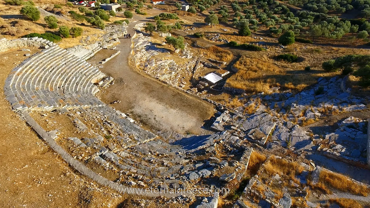 Why you need to visit the Ancient theatre of Thorikos in Lavrion