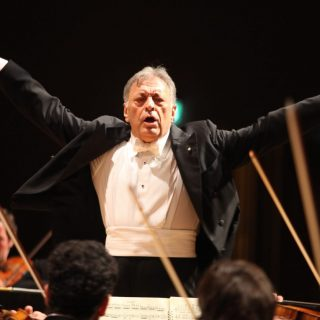 The legendary Zubin Mehta conducts at the Herod Atticus