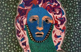 Philip Tsiaras' sensual mosaics of Alexander the Great at The Blender Gallery