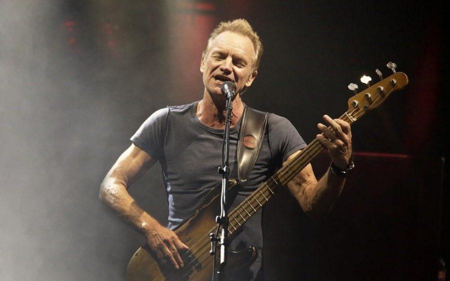 Sting celebrates his 70th birthday under the Acropolis